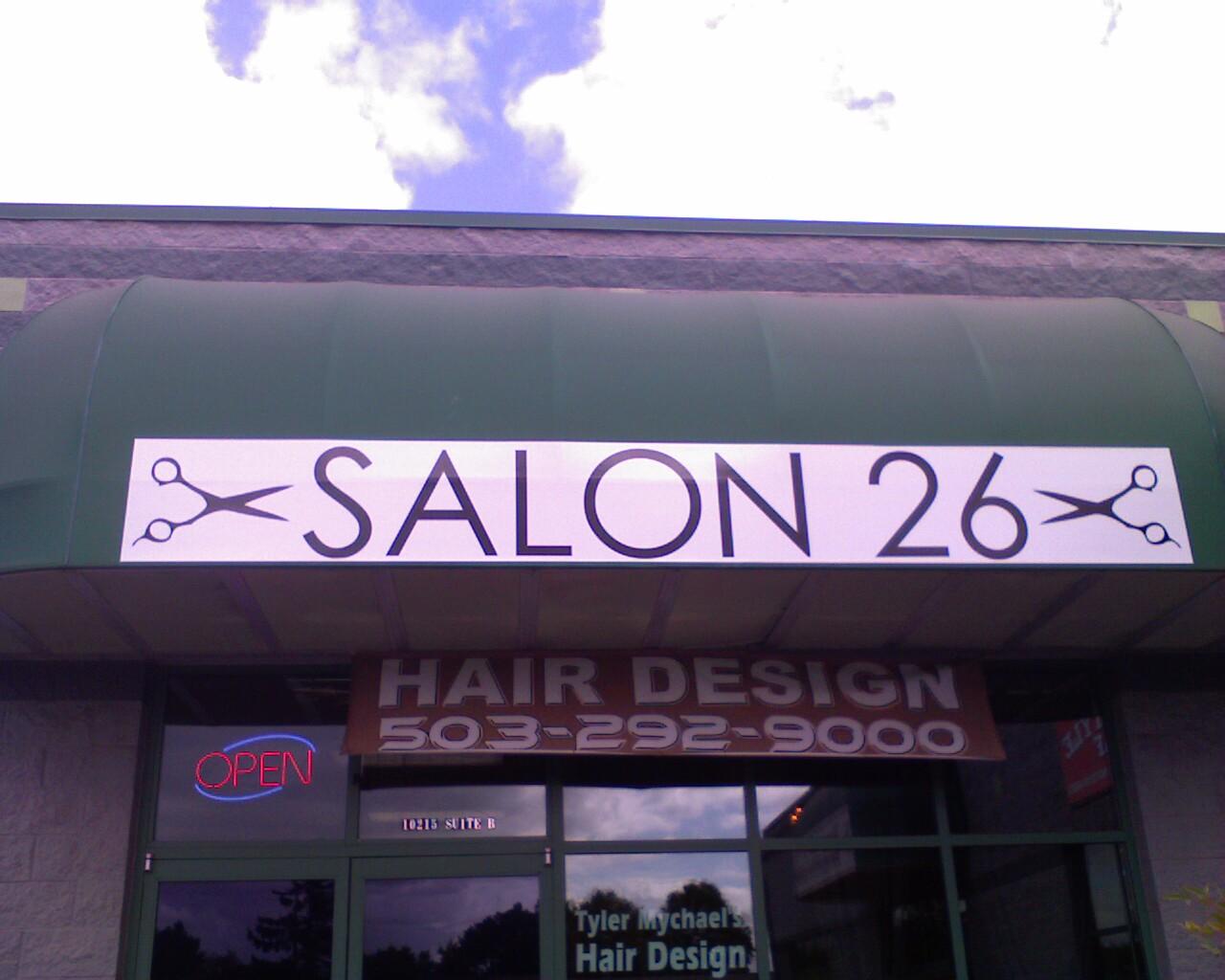 Salon 26, 10215 S.W. Park Way suite B, Portland, Oregon, 97225