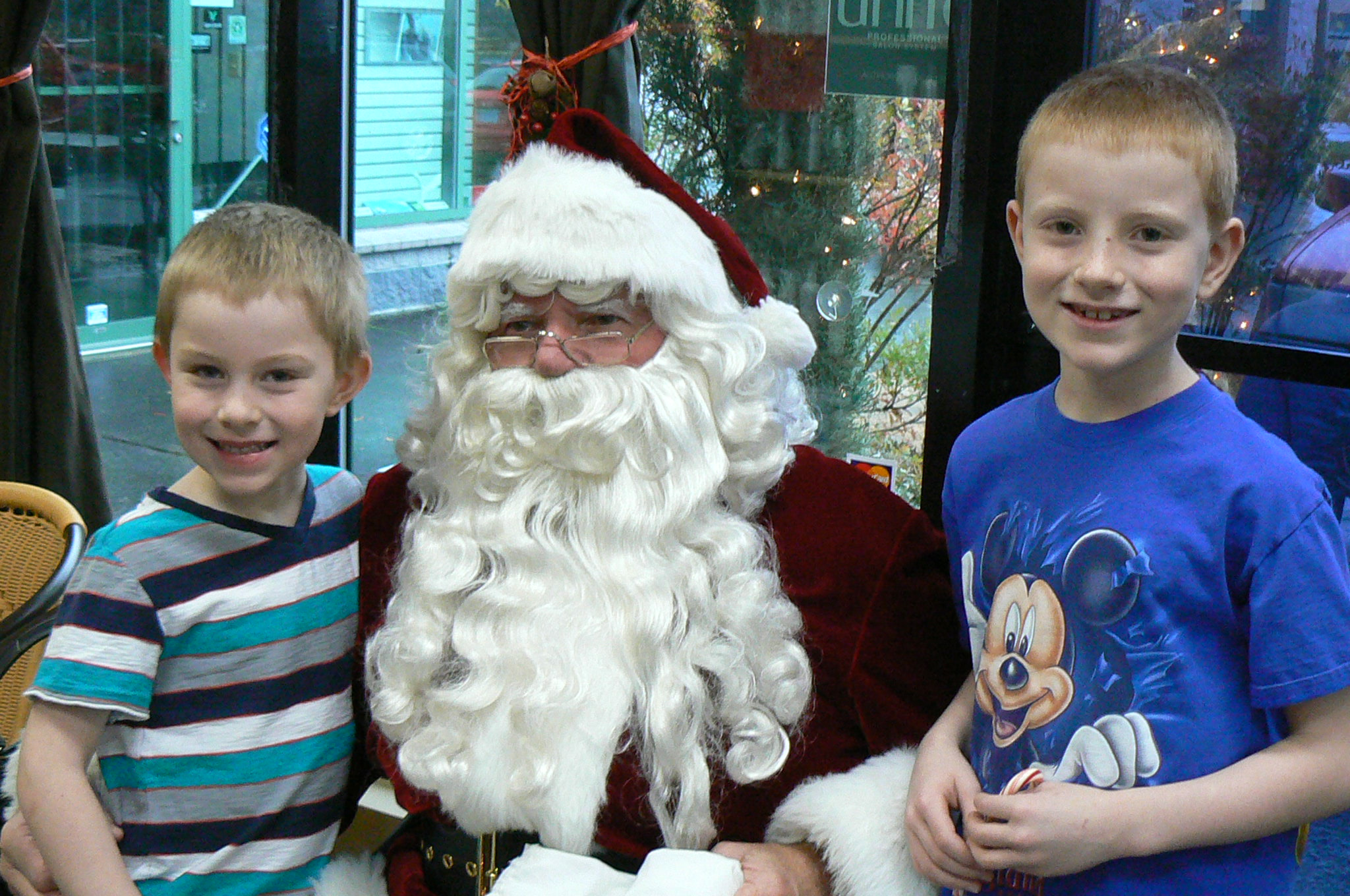 Santa comes but once a year